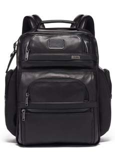 Tumi Alpha 3 Collection Leather Laptop Brief Pack