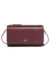 Tumi Belden Leather Wallet Crossbody Bag