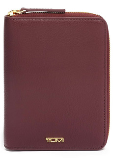 Tumi Belden Leather Zip Passport Case