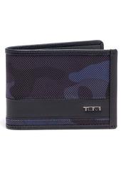 Tumi Camo Bifold Wallet
