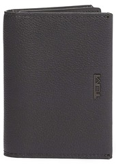 Tumi Gusseted Leather Card Case