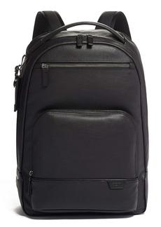 Tumi Harrison Warren Black Leather Backpack