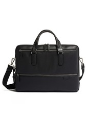 Tumi Harrow Double Zip Leather Briefcase