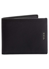 Tumi Nassau Global Leather Wallet with Removable Passcase