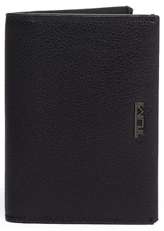 Tumi Nassau Leather Folding Card Case