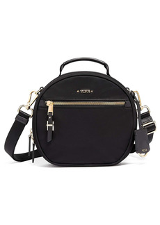 Tumi Quinn Circle Nylon Crossbody Bag