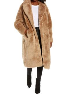 UGG® Esme Long Genuine Toscana Shearling Coat