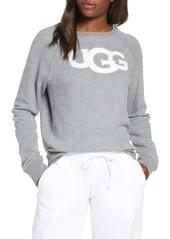 UGG® Fuzzy Logo Sweatshirt