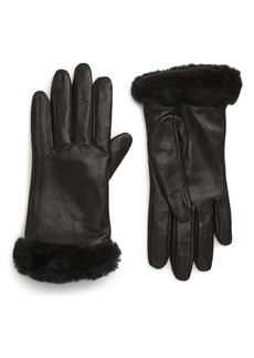 UGG® Genuine Shearling Leather Tech Gloves