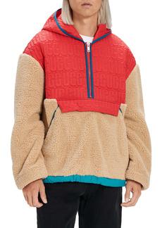 UGG® Iggy Fleece Half Zip Hooded Pullover