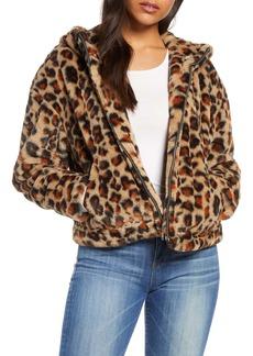 UGG® Mandy Faux Fur Hooded Jacket