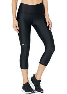 Under Armour HeatGear® Armour® High-Waisted Pocketed Capris