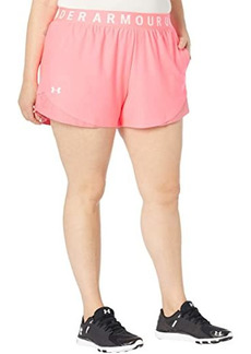 Under Armour Plus Size Play Up 3.0 Shorts