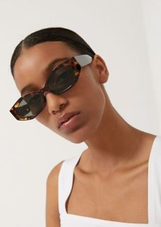 Urban Outfitters Exclusives Aster Chunky Rectangle Sunglasses