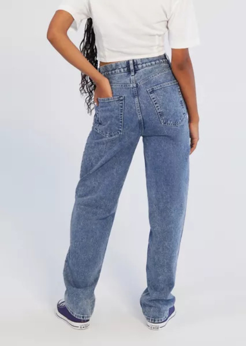Urban Outfitters Exclusives BDG High-Waisted Baggy Jean - Light Acid Wash