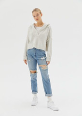 Urban Outfitters Exclusives BDG High-Waisted Distressed Mom Jean