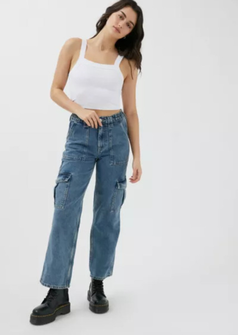 Urban Outfitters Exclusives BDG High-Waisted Skate Jean - Denim