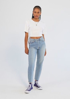 Urban Outfitters Exclusives BDG High-Waisted Slim Straight Jean - Light Wash