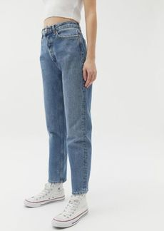 Urban Outfitters Exclusives BDG Premium High-Waisted Straight Leg Jean - Medium Wash