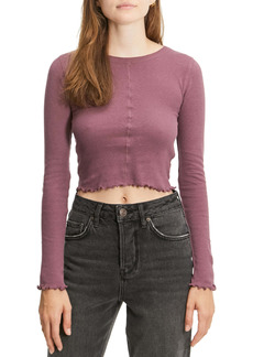 Urban Outfitters Exclusives BDG Urban Outfitters Camilla Long Sleeve Crop Top