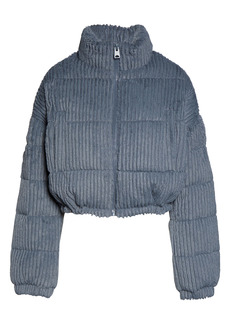 Urban Outfitters Exclusives BDG Urban Outfitters Fluffy Corduroy Crop Puffer Jacket