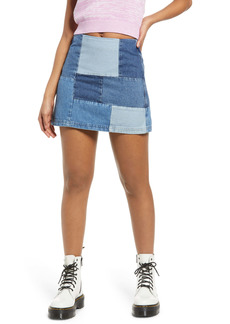 Urban Outfitters Exclusives BDG Urban Outfitters Patchwork Denim Miniskirt