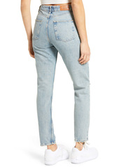 Urban Outfitters Exclusives BDG Urban Outfitters Straight Leg Mom Jeans (Destroyed)