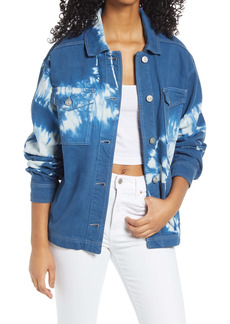 Urban Outfitters Exclusives BDG Urban Outfitters Tie Dye Shirt Jacket