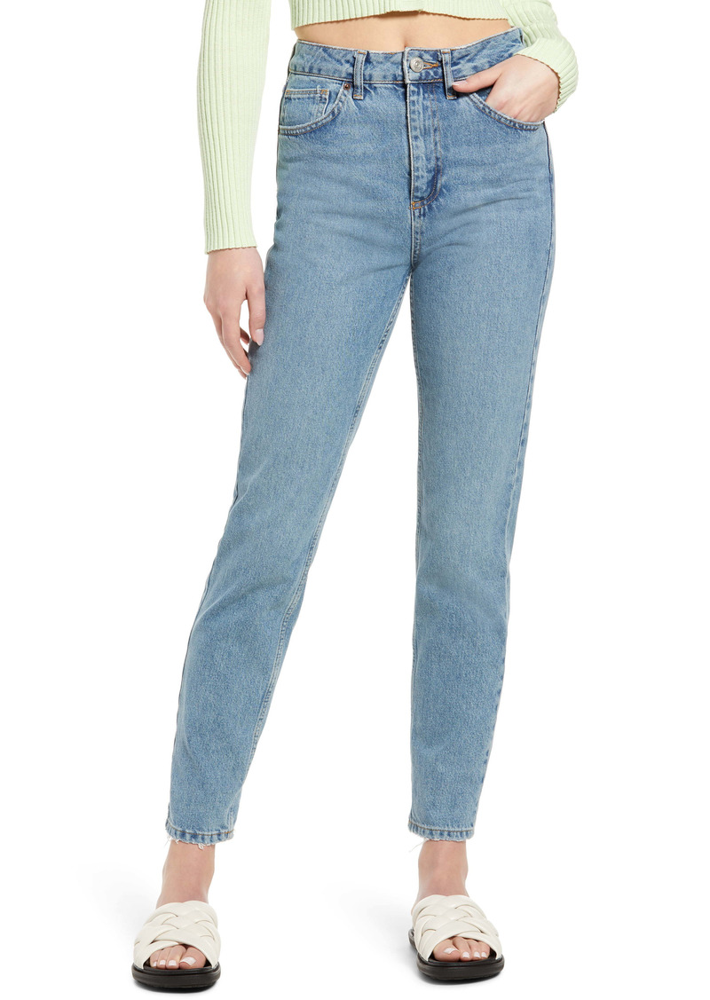 Urban Outfitters Exclusives BDG Urban Outfitters Women's High Waist Mom Jeans (Dark Vintage)