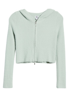 Urban Outfitters Exclusives BDG Urban Outfitters Zip Up Crop Hoodie