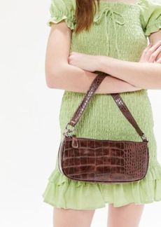 Urban Outfitters Exclusives Crocodile Baguette Bag