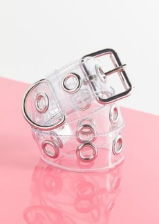 Urban Outfitters Exclusives Large Clear Grommet Belt