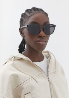 Urban Outfitters Exclusives Olema Plastic Round Sunglasses