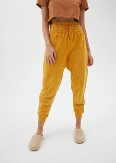 Urban Outfitters Exclusives Out From Under Tyson Smocked Waist Jogger Pant