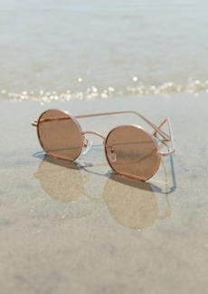 Urban Outfitters Exclusives Rayanne Metal Round Sunglasses