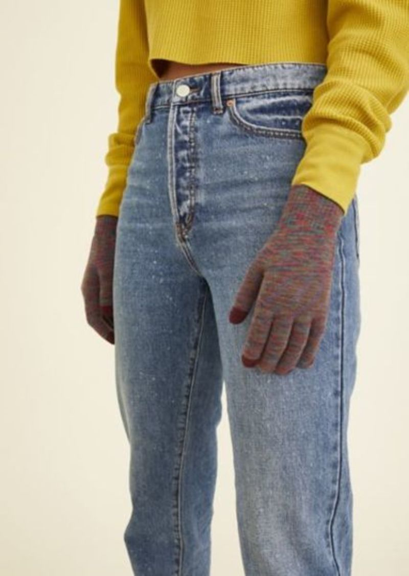 Urban Outfitters Exclusives Space-Dye Flat Knit Tech Glove