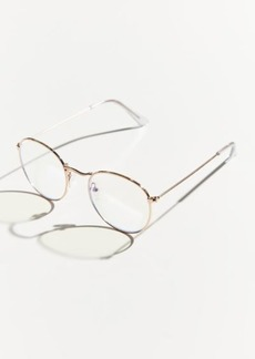 Urban Outfitters Exclusives Taylor Blue Light Round Glasses