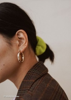 Urban Outfitters Exclusives Tessa Chunky Tube Hoop Earring Set