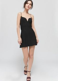 Urban Outfitters Exclusives UO Ari Plunging Bustier Mini Dress