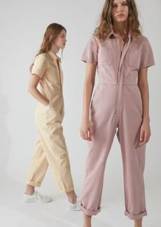 Urban Outfitters Exclusives UO Canvas Flight Jumpsuit