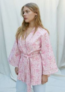 Urban Outfitters Exclusives UO Dahlia Floral Robe