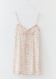 Urban Outfitters Exclusives UO Daphne Floral Chiffon Mini Dress