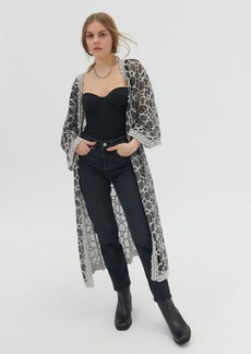 Urban Outfitters Exclusives UO Lace Robe