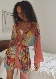 Urban Outfitters Exclusives Willow Patchwork Robe