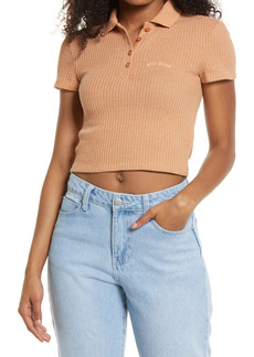 Urban Outfitters Exclusives Women's Bdg Urban Outfitters Waffle Knit Polo