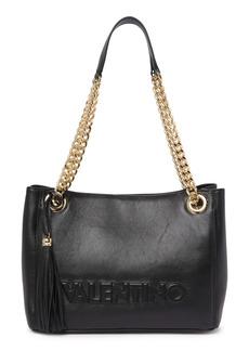 Valentino by Mario Valentino Luisa Sauvage Leather Tote Bag