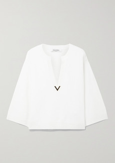 Valentino Embellished Cashmere Sweater