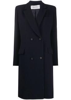 Valentino peak-lapel double-breasted coat