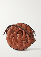 Valentino Garavani 03 Rose Edition Atelier Leather Shoulder Bag
