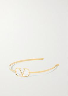Valentino Garavani Gold-tone Headband
